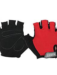 FJQXZ Спортивные перчатки Перчатки для велосипедистов Без пальцев Велосипедный спорт / Велоспорт Муж. Универсальные