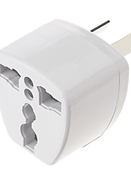 economico -Universale AU Port Viaggi Power Adapter Plug (250V, Bianco)