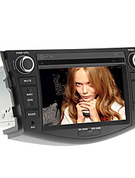 baratos -7 polegadas no painel de instrumentos do carro DVD player para rav4 2006-2012 com GPS, BT, RDS, FM, touch-screen