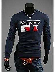 Mænds Dyrk Ens Moral rund hals langærmet T-shirt