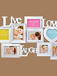"18.75 ""H Modern Style Polyresin Photo Wall Frame"