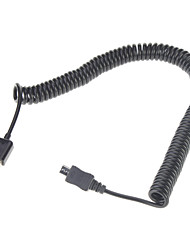 cheap -Spring Coiled USB 2.0 to Micro USB Data/Sync/Charger/Cable(3M,Black)