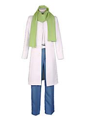 economico -Ispirato da Dramatical Murder Cosplay Video gioco Costumi Cosplay Abiti Cosplay Collage Bianco / Blu / VerdeCappotto / Maglietta /