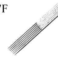 Недорогие -50pcs/box 7F татуировки стерилизовать иглы