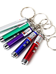 cheap -Key Chain Flashlights Laser / LED <50lm 1 Mode Mini Climbing / Traveling