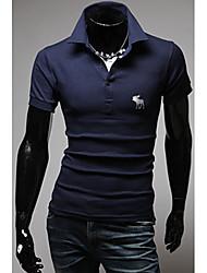 Tizeland Mænds Grundlæggende korte ærmer Polo T-Shirt 1055