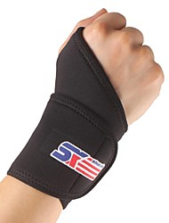 Hand & Wrist Brace Sports Support Eases pain Adjustable Fits left or right elbow Hunting Climbing Camping & Hiking Running Black