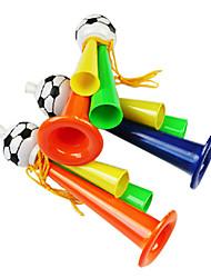 economico -2014 Coppa del Mondo Tre tifosi della metropolitana Incitare plastica Trumpet (colore casuale)