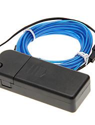 Недорогие -3meter автомобилей Neon светящийся постробирования Электролюминесцентный провод (Эль провода)