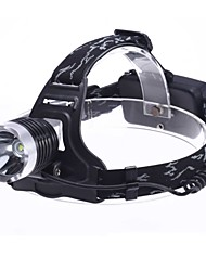 LED Flashlights/Torch Headlamps LED 1800 Lumens 3 Mode - Batteries not included for Camping/Hiking/Caving