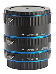 Tubo Extensor Macro Conjunto com 3 Peças para Canon