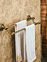 cheap -Towel Bar Antique Brass 1 pc - Hotel bath 2-tower bar