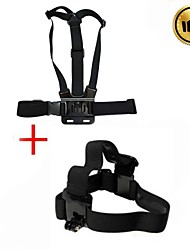 billige -Brystbælte Hovedrem Tilbehør Stropper Opsætning Høj kvalitet Til Action Kamera Alle Gopro 5 Sport DV ABS Andet