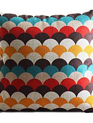 cheap -1 pcs Cotton/Linen Pillow Cover,Geometric Country