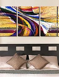 baratos -Canvas Art lindo cor captações Conjunto de 3