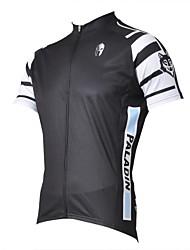 ILPALADINO Maglia da ciclismo Per uomo Manica corta Bicicletta Maglietta/Maglia Top Asciugatura rapida Resistente ai raggi UV Traspirante