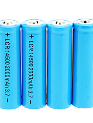 cheap -2000mAh 14500 Battery (4pcs)