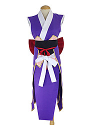 Inspired by Fairy Tail Erza Scarlet Anime Cosplay Costumes Cosplay Suits Kimono Patchwork Apron Belt Bow Kimono Coat For Female
