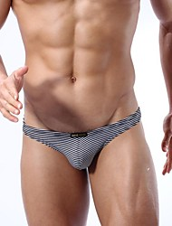Men's Cotton/Spandex G-string