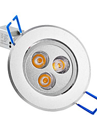 cheap -250lm LED Recessed Lights / LED Ceiling Lights Recessed Retrofit 3 LED Beads High Power LED Warm White 85-265V