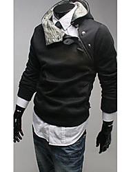 abordables -nono de piel de conejo de algodón de cuello de lana con capucha