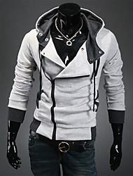 Hoodie modèle coréen des hommes Casual épaississent Cardigan Slim Hoodie