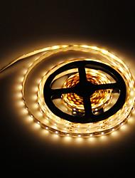 Недорогие -5 метров 300 светодиоды 3528 SMD Тёплый белый 12 V