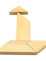 Enigma de madeira T Cérebro Teaser QI Toy