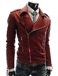 economico -MEN - Giacche e cappotti - Informale A camicia - Maniche lunghe PU
