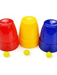 Недорогие -Пластиковые Волшебные чашки и шары Детские игрушки