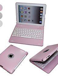 tanie -Elonbo Ultra cienki design ze stopu aluminium z klawiatury Bluetooth dla ochrony Shell iPad 2/3/4
