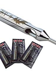 baratos -8 milímetros * tatuagem aço inoxidável 9R316L 50mmNSST-Dicas