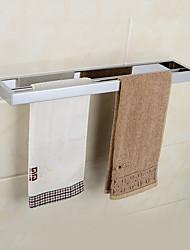 abordables -Moderne, fini chrome en laiton massif serviettes double