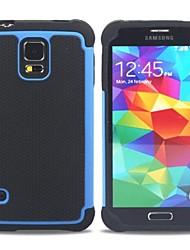 tanie -Kılıf Na Samsung Galaxy Samsung Galaxy Etui Odporny na wstrząsy Osłona tylna Zbroja PC na S5