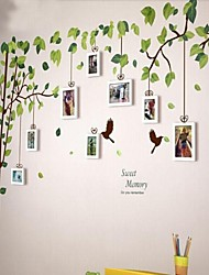 economico -Bianco Photo Frame Set di 9 con Wall Sticker
