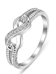 Genuine 925 Rings for Women Sterling Silver Jewelry Designer Brand Rings Wedding Rings Lady Infinity Rings