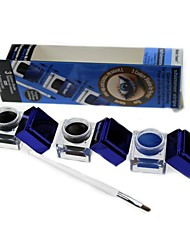 Недорогие -Карандаши для глаз Хаки Составить 3 pcs сухой / минеральный Глаза косметический Товары для ухода за животными