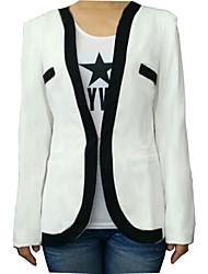 ソリッドカラーの装着ファッションブレザーをmengsha