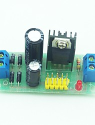 L7805 AC DC Voltage Stabilizer Regulator Module   Black