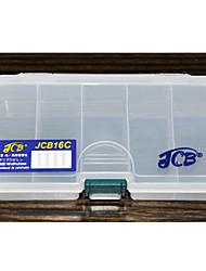 Недорогие -JCB16C трехслойный Приманка Box снасти Box (16.1 * 9.1 * 3.2cm)