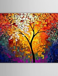 Dipinta a mano Paesaggi Un Pannello Tela Hang-Dipinto ad olio For Decorazioni per la casa