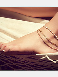 Anklet/Bracelet Pearl Imitation Pearl Alloy Unique Design European Costume Jewelry Fashion Jewelry Jewelry For Party Daily Casual