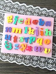 cheap -Lowercase Letter Shaped Bake Fondant cake mold,L8.2cm*W6.5cm*H0.7cm