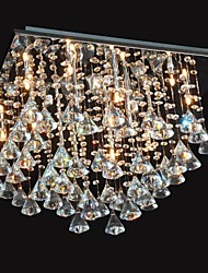 cheap -Chandelier ,  Traditional/Classic Chrome Feature for Crystal Metal Living Room Bedroom Dining Room
