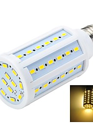 cheap -E26/E27 LED Spotlight LED Globe Bulbs LED Corn Lights T 60 LEDs SMD 5730 Warm White 1000-1200lm 3000-3500K AC 220-240V