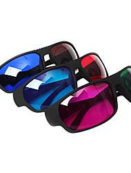 Недорогие -reedoon красный синий / зеленый красный / синий коричневый 3d очки для телевизоров компьютера (4шт)