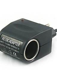 100V-240V AC to 12V DC Power  Lighter(EU Plug)