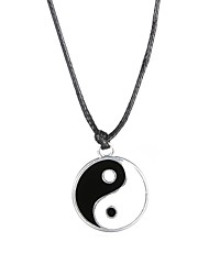 cheap -Fashion Stainless Steel Tai Ji Pendant Necklace  Christmas Gifts
