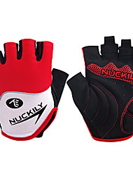 cheap -Nuckily Sports Gloves Bike Gloves / Cycling Gloves Wearable Breathable Wearproof Anti-skidding Protective Shockproof Fingerless Gloves