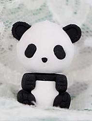 carino cancellino a forma di panda staccabile (colore casuale x 2 pezzi) per scuola / ufficio
